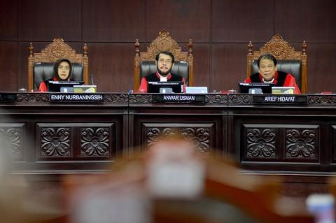 MK Siap Sidangkan Uji Materi UU Baru KPK