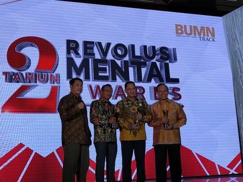 Bulog Rebut Emas Kategori Indonesia Mandiri