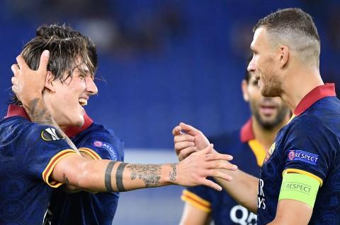 AS Roma Lumat Istanbul Basaksehir 4-0