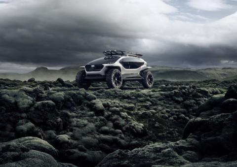 Audi AI: Trail Concept, Mobil Offroad dari Masa Depan