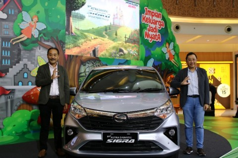 Daihatsu Resmi Luncurkan New Astra Daihatsu Sigra