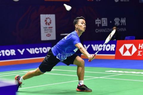 China Open 2019: Anthony GInting Lolos ke Semifinal