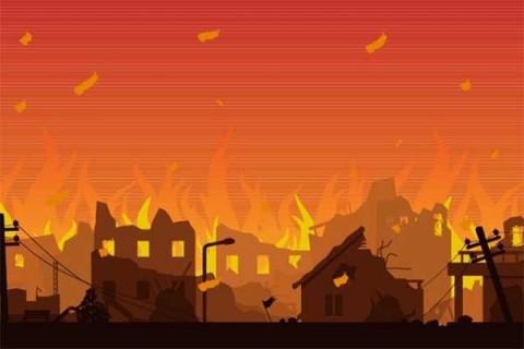 Pemukiman di Jatinegara Terbakar, 17 Unit Damkar Dikerahkan