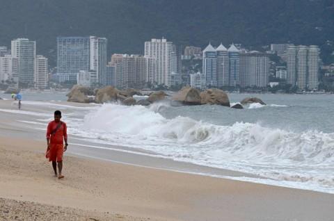 Badai Lorena Tiba di Los Cabos Meksiko