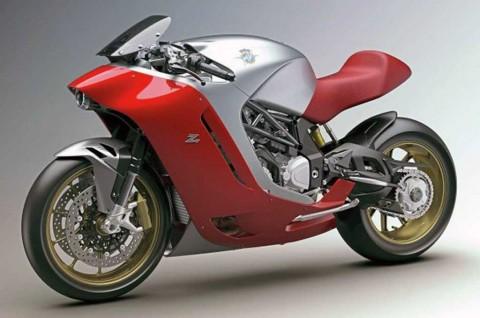MV Agusta F4Z Tampil Sporty ala Superbike