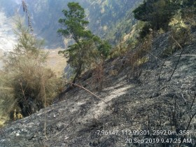 Pemadaman Kebakaran Gunung Semeru Terkendala Medan