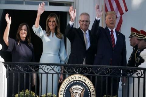 PM Australia Dijamu Makan Malam Kenegaraan di AS
