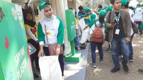 World Cleanup Day di Bekasi Bersihkan Hutan Kota