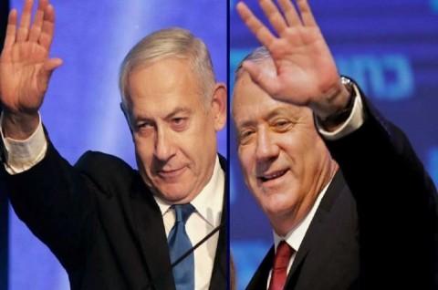 Gantz Unggul Dua Kursi dari PM Israel