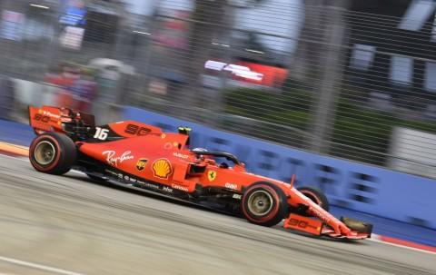Leclerc Pimpin Sesi Latihan Bebas Ketiga