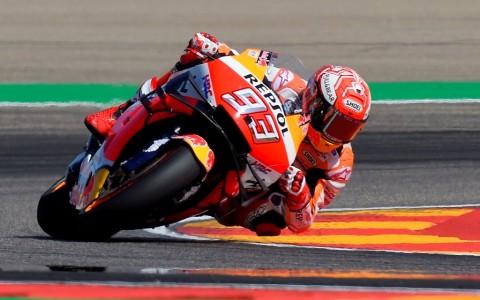 Marquez Start Terdepan pada MotoGP Aragon