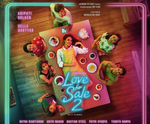 Tak Ada Lagi Gading Marten di Poster Film Love For Sale 2
