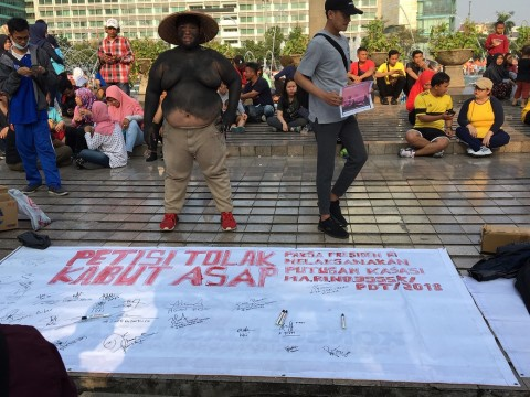 Jurnalis Indonesia Galang Dana untuk Korban Karhutla