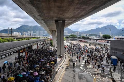 Antisipasi Penyerangan, Hong Kong Perketat Keamanan Bandara