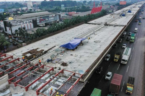 Tol Layang Jakarta-Cikampek Siap Beroperasi November 2019