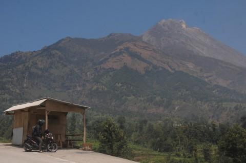 Warga Selo Boyolali Tak Terdampak Hujan Abu Merapi
