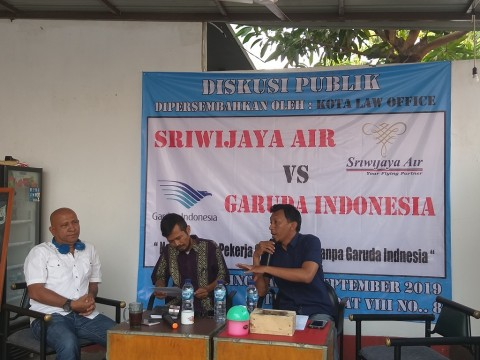Asosiasi Pekerja Protes Sriwijaya Upaya Pisah dari Garuda