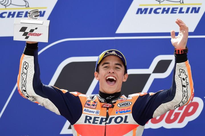 Marc Marquez Juara MotoGP Aragon 2019