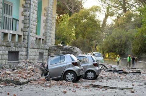 Gempa Magnitudo 5,6 Rusak Puluhan Rumah di Albania