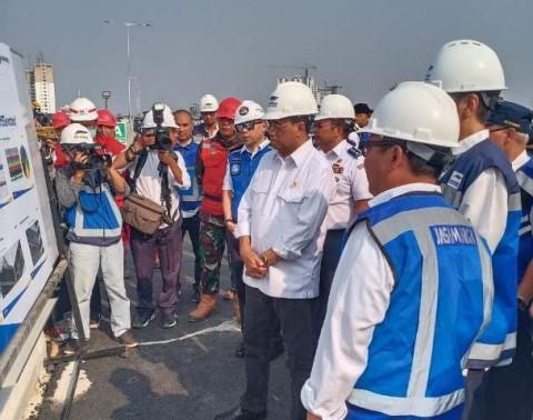 Menhub: Keamanan Tol Layang Jakarta-Cikampek Perlu Terjamin