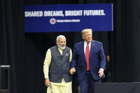 Trump dan Modi Bertekad Bersama-sama Perangi Terorisme
