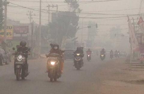 Pemkot Jambi Liburkan Pegawai Hamil Akibat Kabut Asap
