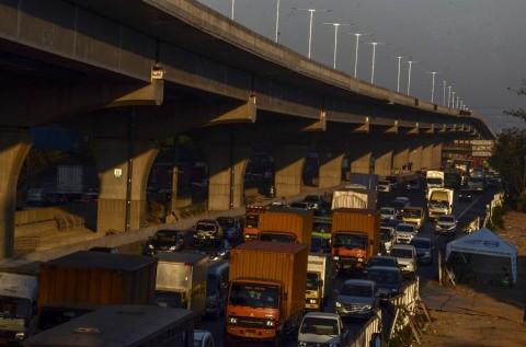 Jalan Tol Layang Siapkan Rekayasa Lalin saat Kecelakaan