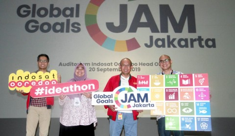 Indosat Ooredoo Gelar Global Goals Jam Perdana