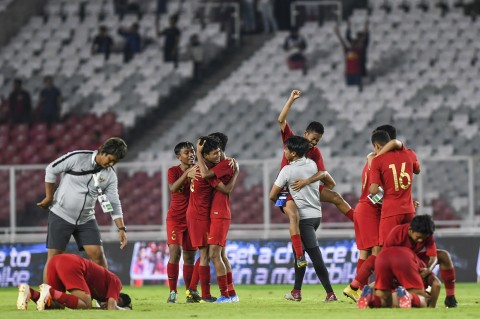 Tahan Tiongkok, Timnas U-16 Lolos ke Piala Asia 2020