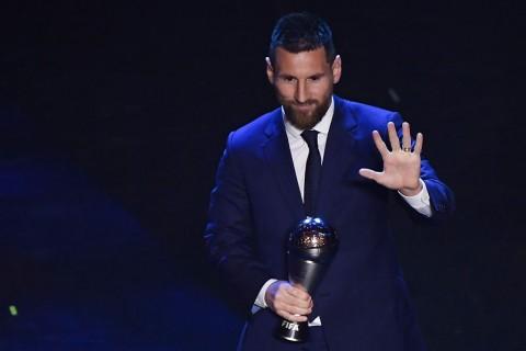 Reaksi Messi Setelah Raih Penghargaan Pemain Pria Terbaik FIFA 2019