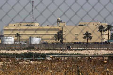 Dua Roket Hantam Area Dekat Kedubes AS di Baghdad