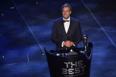 Raih Penghargaan Pelatih Terbaik, Klopp Ucapkan Terima Kasih untuk Liverpool
