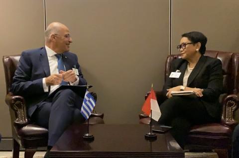 RI Perkuat Diplomasi Ekonomi dengan Yunani dan Dominika