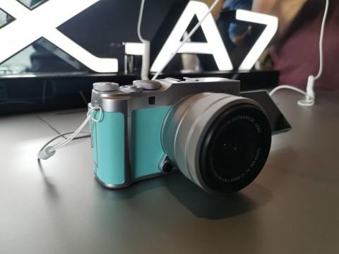 Kamera Pemula Fujifilm X-A7 Resmi ke Indonesia, Harganya?