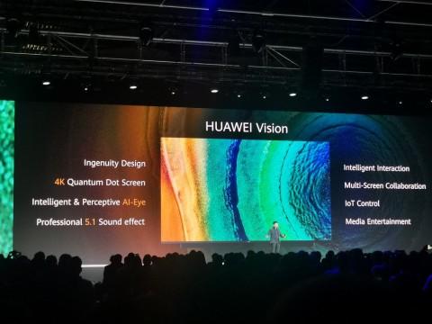 Huawei Vision, TV 4K Tekankan Kecerdasan Buatan