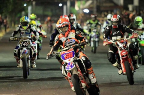 Doni Tata Juara Moto 2 Trial Game Asphalt 2019 Yogyakarta
