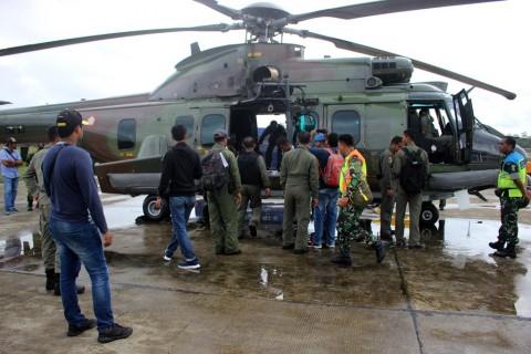 Pesawat Hilang Kontak Diduga Jatuh Menabrak Gunung