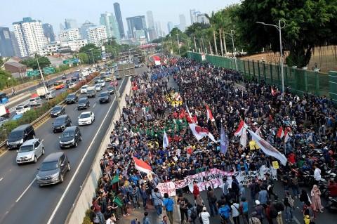 Menkumham Minta Mahasiswa Mewaspadai Penyusup di Aksi Demo
