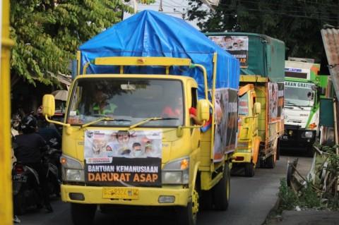 100 Ton Logistik untuk Korban Kabut Asap di Riau