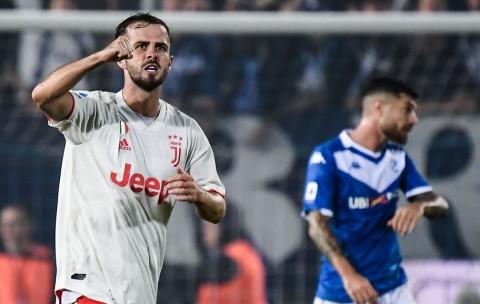 Pjanic Bawa Juventus Menang atas Brescia