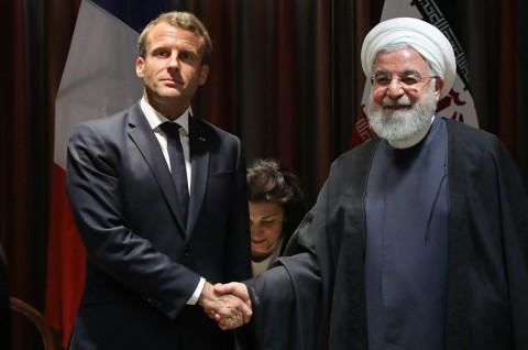 Macron Berharap Trump dan Rouhani Bertemu di PBB