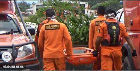 SAR Evakuasi Korban Kecelakaan Pesawat di Timika