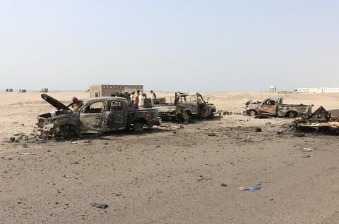 Tujuh Bocah Tewas dalam Serangan Udara di Yaman