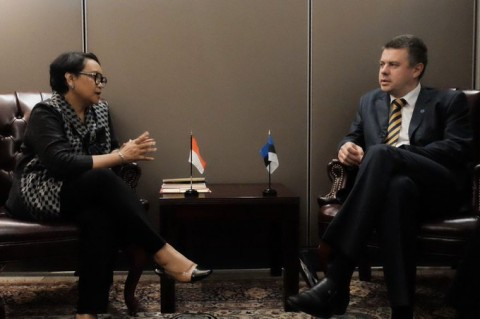 RI Conveys Congratulations on Estonia's Election as UNSC Member