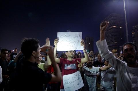 Mesir Tangkap Jurnalis Peliput Demo Anti-Pemerintah