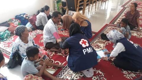184 Jiwa Mengungsi Pascakebakaran Limbah Plastik di Tangerang