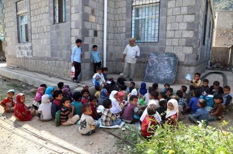 PBB: 2 Juta Anak-Anak di Yaman Putus Sekolah