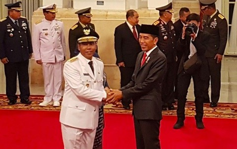 Jokowi Appoints Bengkulu Vice Governor