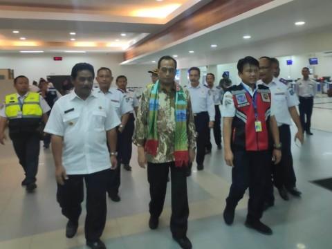 Menhub Dorong Pengembangan Bandara Belitung
