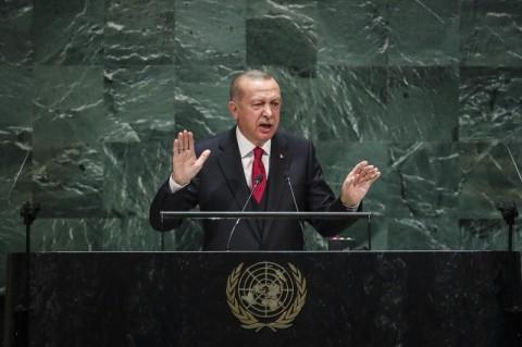 Presiden Turki Usulkan 'Zona Aman' bagi Pengungsi di Suriah